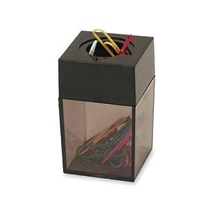 Amazon.com : S.P. Richards Company Paper Clip Dispenser, Magnetic ...