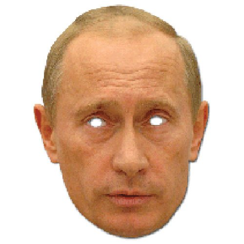 [Vladimir Putin Celebrity Paper Mask] (Celebrity Halloween Costumes For Sale)