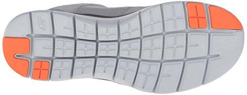 Skechers Flex Advantage 2.0, Zapatillas de Deporte para Hombre Gris - Grau (LGOR)