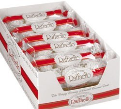 The Crispy Creamy FERRERO Raffaello Coconut Almond Treat Box NET WT 12 OZ (360 g)