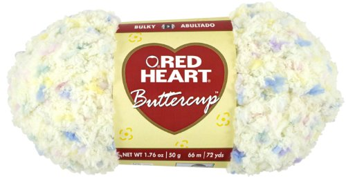Red Heart Buttercup Yarn, Light Yellow ()