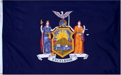 New York State Flag 3x5 3 x 5 Brand NEW LARGE US - Store Flag New York