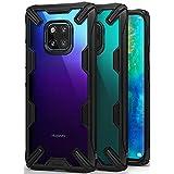 Ringke Fusion-X Compatible con Funda Huawei Mate 20 Pro Ergonómico Transparente [Defensa Provista Caída Militar] Firme PC Back TPU Bumper Resistente Impactos Cover para Mate 20 Pro (2018) - Black