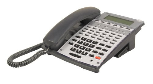 NEC Aspire 34 Button Display Telephone Black Stock # 0890045 IP1NA-24TXH by NEC Aspire