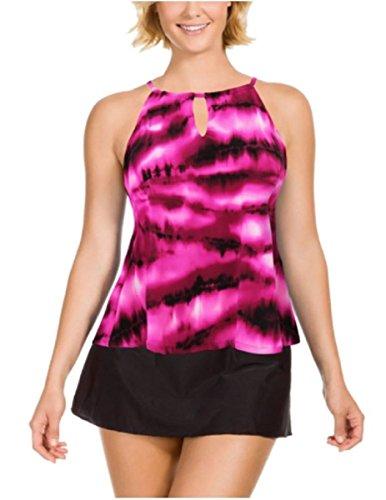 - Miraclesuit Kirkland Signature Tankini Swimsuit TOP, Look & Feel Slimmer! (8, (07) Electric Peephole Pink)