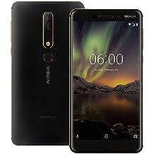 "Nokia 6.1 (Nokia 6 2018) TA-1068 64GB Black/Copper, Dual Sim, 5.5"", 4RAM, GSM Unlocked International Model, No Warranty"
