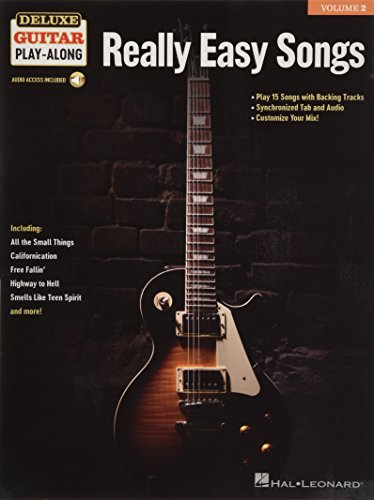 Really Easy Songs: Deluxe Guitar Play-Along Volume 2 ()