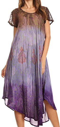 Buy hand block printed dress - 7