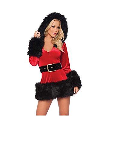 Linie GGTBOUTIQUE rot mehrfarbig schwarz Damen Kleid A nEfBUSE