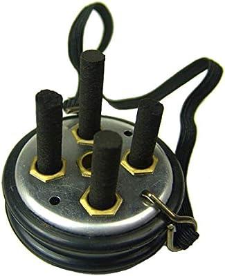 1 Pc Cinco Agujero moxibustión caja de moxa sin humo moxibustión Columna Instrumento Cinco Elementos Ciruela moxibustión Box: Amazon.es: Salud y cuidado personal