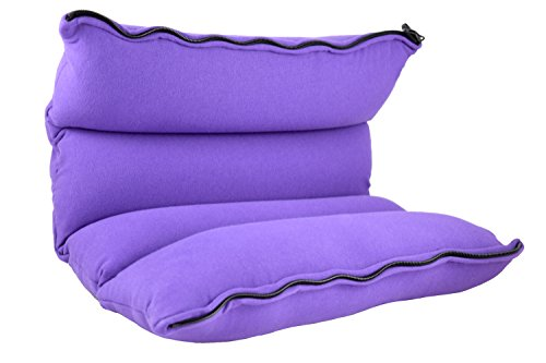 Yogibo-ZippaRoll-Multiple-Purpose-Roll-up-Pillow-Use-as-a-Pillow-Seat-Cushion-or-as-Lumbar-Back-Support-Perfect-for-Neck-Back-or-Knees-Purple