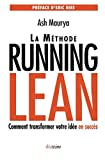 img - for La m thode Running Lean: Comment transformer votre id e en succ s (French Edition) book / textbook / text book