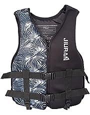 Life Jackets Adult/Children,Outdoor Fishing Life Jacket Fishing Vest,Inflatable Safty Float Life Jacket, for Boating Kayak Canoeing,with Adjustable Buckle Snorkel Vest