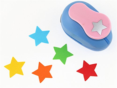 CADY Crafts Punch 1-Inch paper punches (Lucky Star) ()