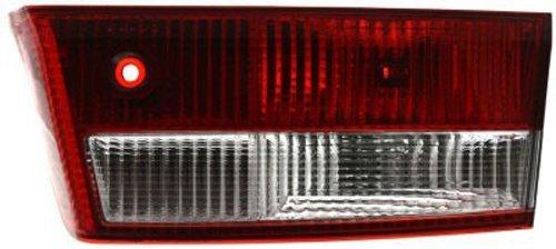 (Crash Parts Plus Passenger Right Side Tail Light Tail Lamp for 03-04 Honda)