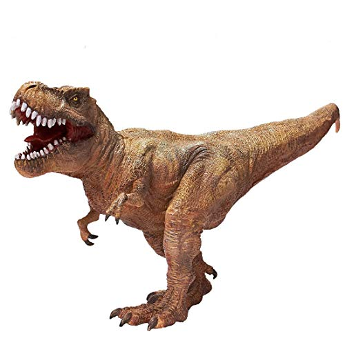RECUR Tyrannosaurus Rex Dinosaur Toy, 3 Year Old Boy Toys Kids Toy Realistic Jurassic Trex Dinosaur, 12.8inch Dinosaur Action Figures, Real Feel T-Rex Figurine Model 1:40 Ideal Collectibles -