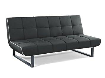 Direct low cost - Sofa cama almazan, color : negro