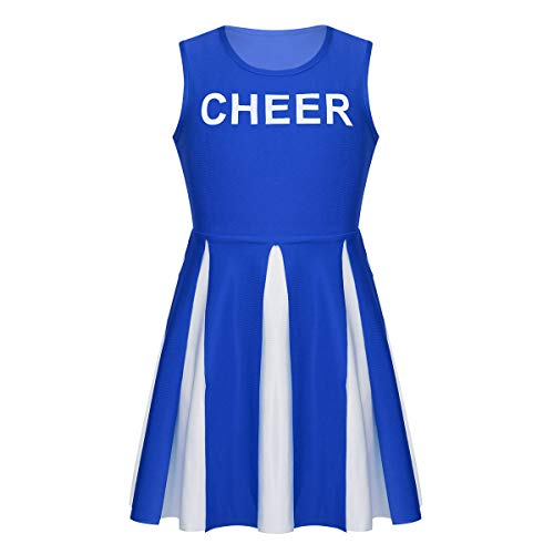 dPois Kids Girls' Cheer Leader Team Uniform