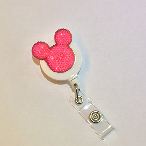 Decorated Retractable Badge Holder Backing