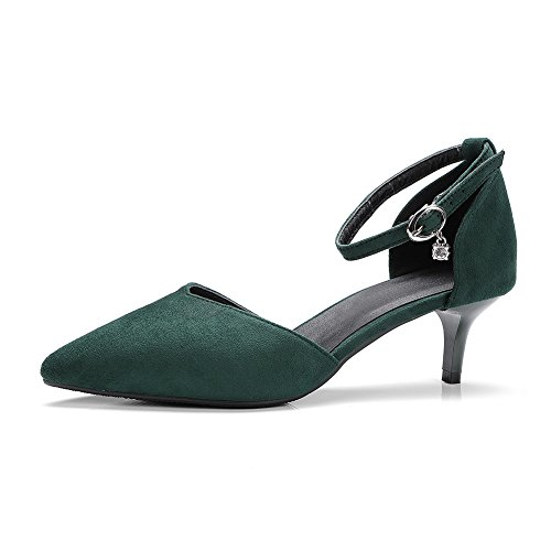 BalaMasa Vert ASL05478 Green Femme 36 Compensées 5 Sandales HIqrIT