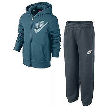 2cd620eaaefa Nike Boy s High Brand Read Brushed Fleece Cuffed Warm Up Training Suit -  Rift Blue