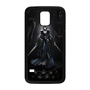 Saber Fate Stay Night Anime Samsung Galaxy S5 Cell Phone Case Black yyfabc-602536