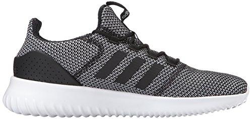 Adidas Originali Mens Nuvolafoam Ultimate Running Shoe Nero / Nero / Bianco