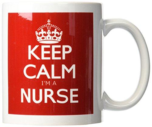 3dRose mug 163857 1 Nurse Ceramic 11 Ounce