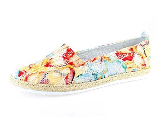 Marc Shoes Women's Emily Espadrilles Green (Grün 00311) Zxmp62jCc