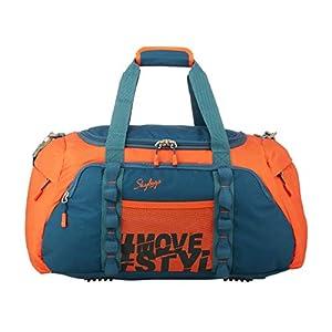 Skybags Unisex Polyester Cabin Soft Luggage Duffel Bag (Orange) - 55 Cm
