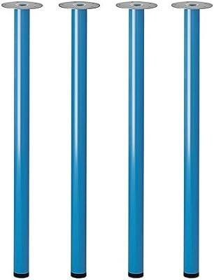IKEA ADILS – pata para mesa – Set de 4 – acero, azul: Amazon.es ...