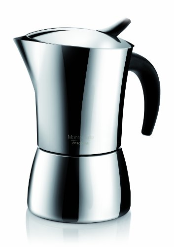 Tescoma:''Monte Carlo'' Stainless Steel Coffee Maker 4-Cups by Tescoma