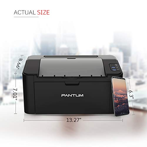 Pantum Monochrome Laser Printer with Wireless Networking and Mobile Printing P2502W by Pantum (Image #2)