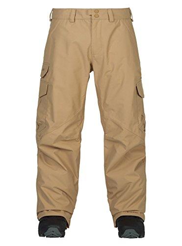Burton Fiber Snowboard (Burton Men's Cargo Pant Mid Fit, Kelp '18, Medium)