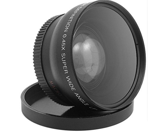 Wide Macro Angle Lens 52 MM 0.45X for HDV-C2 Camcorder 1080p