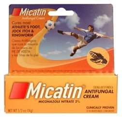 Micatin Anti Fungal Cream for Athletes Foot - 14 Gm by Micatin (Image #1)