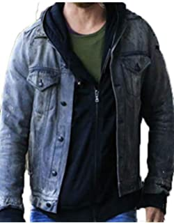 667c180995d Chris Hems worth Thor Ragnarok Jacket Denim Fabric By Gemini Seller ...