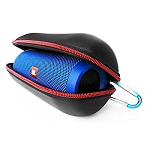 FitSand (TM) Carry Travel Zipper Portable Protective Hard Case Cover Bag Box for JBL Flip 3 or JBL Flip 4 Bluetooth Speaker
