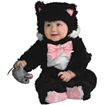 Inky Black Kitty Baby Infant Costume - Baby 18-24