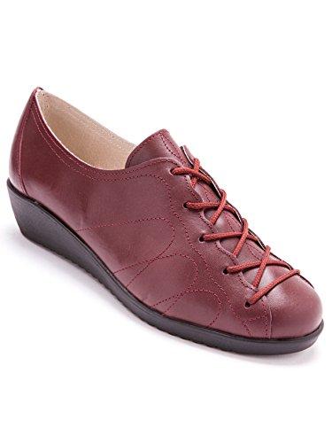 Pediconfort Granate Cordones Zapatos De Mujer rqrzY