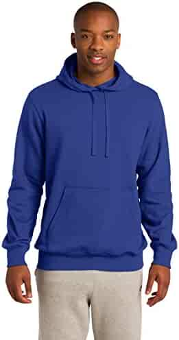 1159e8fce397 Sport-Tek Big Tall Men s Hooded Sweatshirt – Cotton Polyester Fleece –  Medium