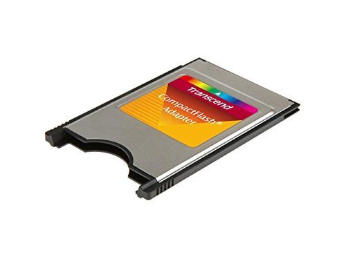 TRANSCEND PCMCIA ATA ADAPTER FOR CF CARD - Sold as 4 Packs by TRANSCEND INFORMATION