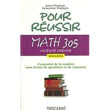 Math 305 algebre