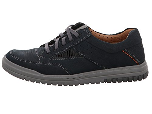 Dark Scarpe Casual Unrhombus Mens Andare Clarks Stringate Navy cPfvZqcw