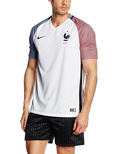 Nike France Away Stadium Soccer Jersey (White) Large