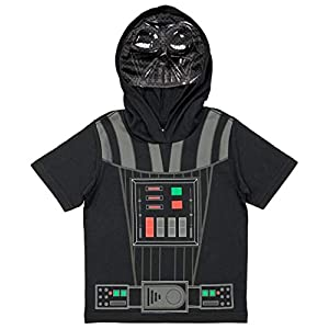 Star Wars Little Boys' Hooded Costume Tee