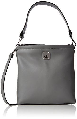 Fiorelli Women's Beaumont Satchel Grey (Grey Mix)