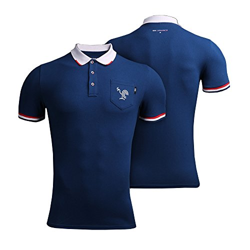 Polo World Cup - Cg Men Support Polo Shirt France Soccer National Color 3X-Large