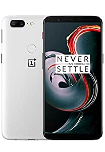 OnePlus 5T A5010 - 8GB RAM + 128GB - 6.01 inch - US Version with Warranty (Sandstone White)