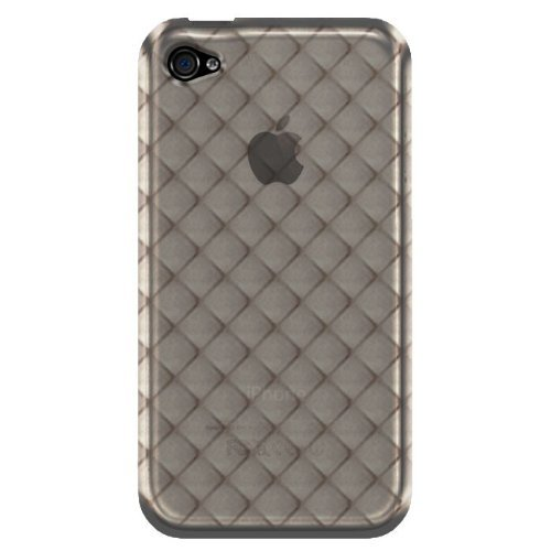 Katinkas KATIP41027 Soft Cover für Apple iPhone 4 Watercube schwarz